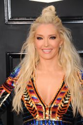 Erika Jayne on Red Carpet – GRAMMY Awards in Los Angeles 2/12/ 2017