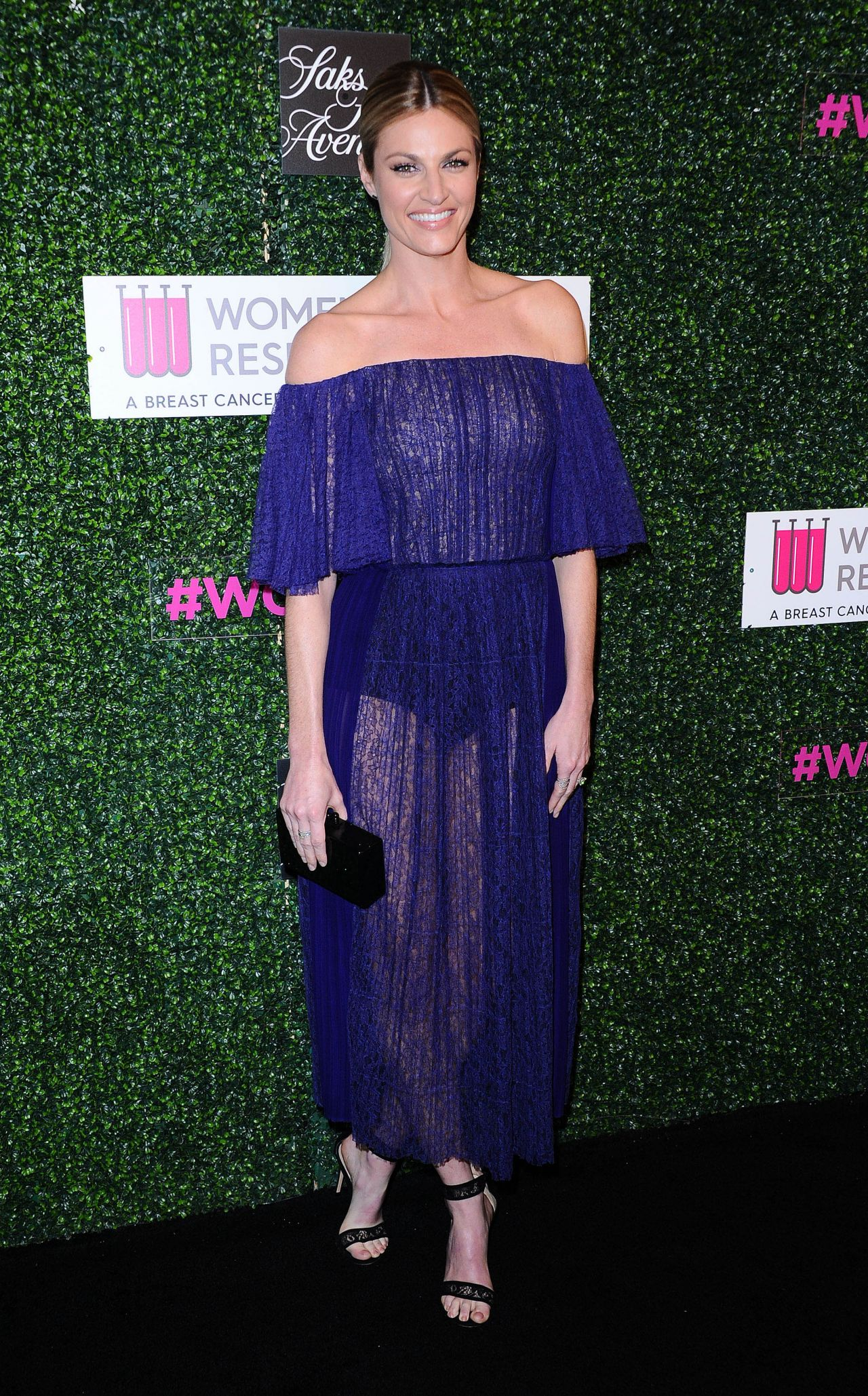 Erin Andrews  Womens Cancer Research Fund Hosts An Unforgettable Evening -8664
