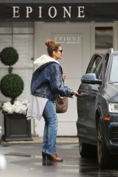 Eva Mendes at Celeb Hot Spot Epione in Beverly Hills 2/7/ 2017