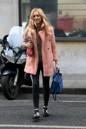 Fearne Cotton - Arrives at BBC Radio 2 Studios in London, February 2017