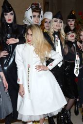 Fearne Cotton - Pam Hogg Show at London Fashion Week 2/19/ 2017