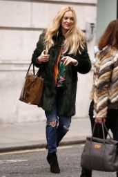 Fearne Cotton Street Style - Out in London, UK 2/15/ 2017
