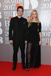 Fearne Cotton – The Brit Awards at O2 Arena in London 2/22/ 2017