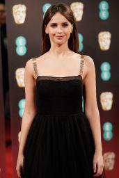 Felicity Jones at BAFTA Awards in London, UK 2/12/ 2017