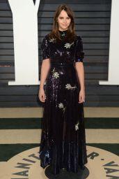Felicity Jones at Vanity Fair Oscar 2017 Party in Los Angeles