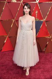 Felicity Jones – Oscars 2017 Red Carpet in Hollywood, Part II