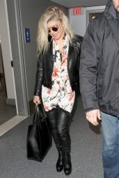 Fergie - LAX Airport in Los Angeles 2/6/ 2017