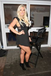 Frankie Essex – Out in Loughton for the Launch Party of the By Georgina Hair Salon in Essex, Feb 2017
