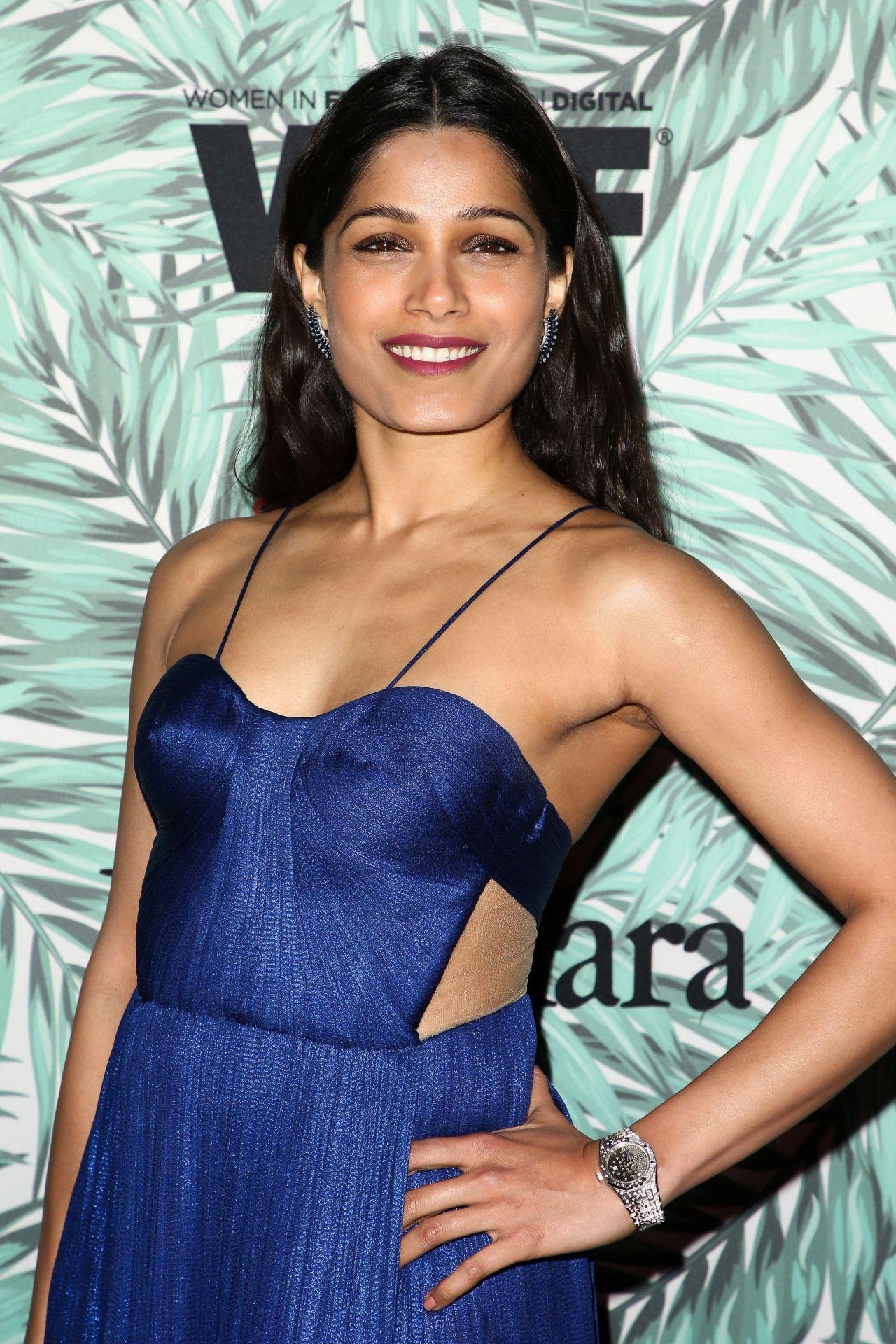 Freida Pinto - Woman in Film Cocktail Party in Los Angeles ... Freida Pinto