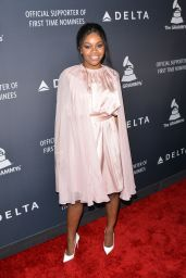Gabby Douglas – Delta Air Lines Official Grammy Event in Los Angeles 2/9/ 2017