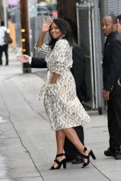 Gabrielle Union at Jimmy Kimmel Live TV Show in Los Angeles 2/7/ 2017