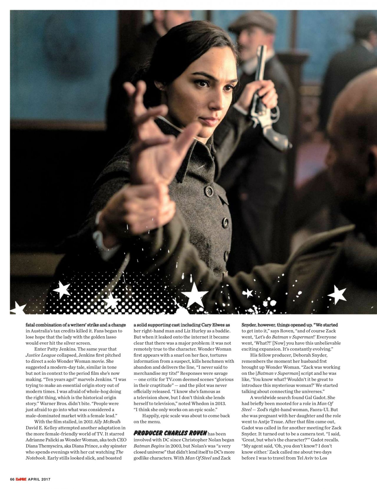 Gal gadot empire magazine uk april 2019 issue new picture