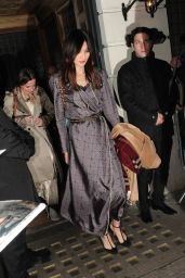 Gemma Chan – Harvey Weinstein Pre BAFTAs Dinner in London, UK 2/10/ 2017