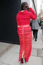 Georgia May Foote - London Fashion Week 2/17/ 2017