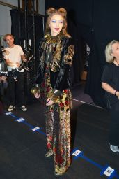 Gigi Hadid - Anna Sui Fashion Show Fall/Winter 2017 - Backstage 2/15/ 2017