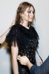 Gigi Hadid at Milan Fashion Week - Alberta Ferretti