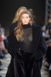 Gigi Hadid in Milan Fashion Week - Max Mara Show 2/23/ 2017