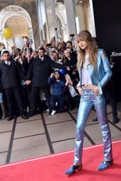 Gigi Hadid - Meets the Fans at the TommyxGigi 2017 Collection Presentation in Milan 2/24/ 2017