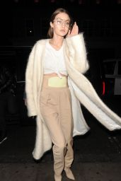 Gigi Hadid Style Inspiration - Leaving Her Hotel in London 2/20/ 2017