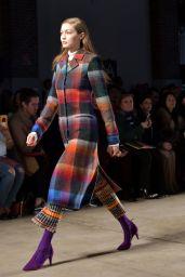 Gigi Hadid Walks Missoni Show at Milan Fashion Week 2/25/ 2017