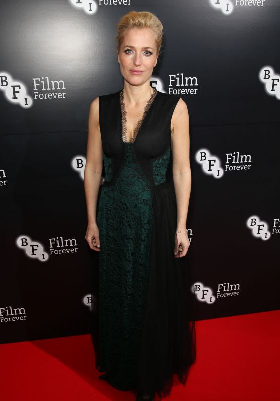 Gillian Anderson - BFI Chairman