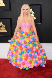 Girl Crush in Gumball Dress – GRAMMY Awards in Los Angeles 2/12/ 2017