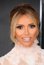 Giulianna Rancic on Red Carpet – GRAMMY Awards in Los Angeles 2/12/ 2017