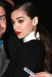 Hailee Steinfeld - Leaving The Chanel and Charles Finch Pre-Oscar Party in Beverly Hills 2/26/ 2017