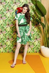 Hailee Steinfeld - Reef Escape Collection campaign by Yu Tsai, 2017