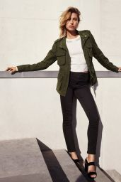 Hailey Baldwin – H&M Denim Days 2017 Campaign