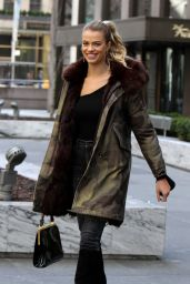 Hailey Clauson Casual Style - Out in New York 2/16/ 2017