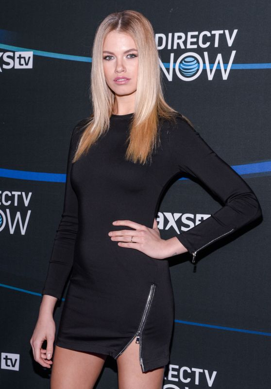 Hailey Clauson - DIRECTV NOW Super Saturday Night Super Bowl LI Party in Houston 2/4/ 2017