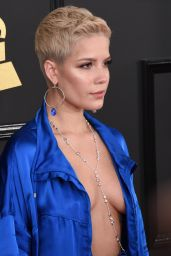 Halsey at GRAMMY Awards in Los Angeles 2/12/ 2017