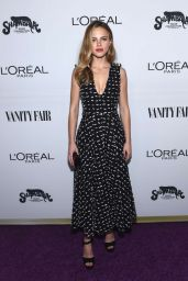Halston Sage – Vanity Fair and L'Oreal Paris Toast to Young Hollywood 2/21/ 2017