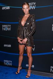 Hannah Ferguson – 2017 DIRECTV NOW Super Saturday Night Concert in Houston 2/4/ 2017