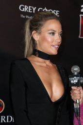 Hannah Ferguson - Leather & Laces at Hughes Manor in Houston 2/3/ 2017