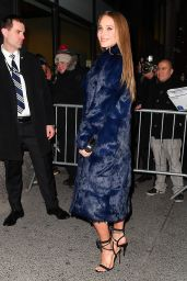 Hannah Jeter Arriving at SI 2017 Launch Event in NYC 2/16/ 2017