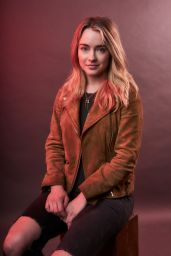 Hannah Kasulka - Variety Portrait Studio at the Music is Universal Lounge in LA 2/10/ 2017