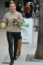 Hilary Duff - Getting Juice To Go in LA 2/21/ 2017