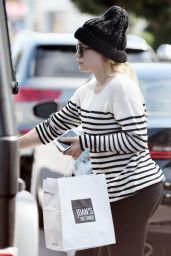 Hilary Duff - Leaving Joan's on Third in Los Angeles 2/13/ 2017