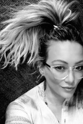 Hilary Duff - Social Media Pics, January 2017