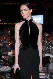 Hilary Rhoda at amfAR New York Gala Red Carpet, 2/8/ 2017