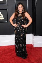 Hillary Scott on Red Carpet – GRAMMY Awards in Los Angeles 2/12/ 2017