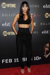 Ilfenesh Hadera at 'Billions' Season 2 Premiere in NYC 2/13/ 2017