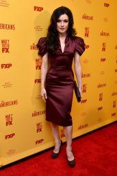 Irina Dvorovenko – 'The Americans' Season 5 Premiere in NYC 2/25/ 2017