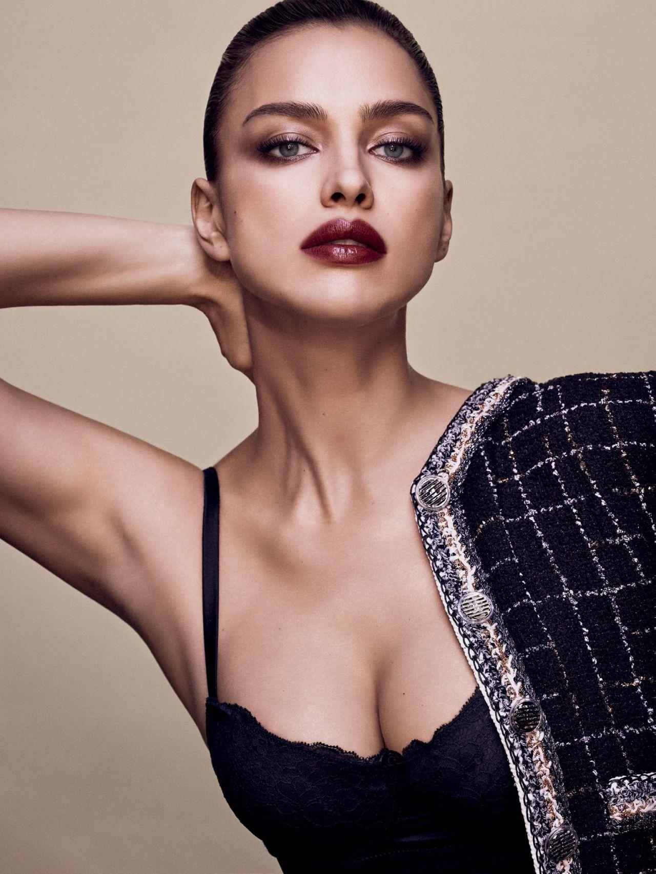 Irina Shayk Vogue Magazine Russia March 2017 Photos