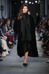 Isabeli Fontana Walks Max Mara Show  – Milan Fashion Week, Italy 2/23/ 2017