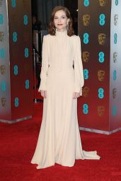 Isabelle Huppert at BAFTA Awards in London, UK 2/12/ 2017