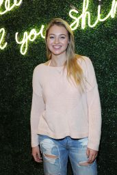 Iskra Lawrence – All Woman Campaign at Aerie Spring Street Pop Up Shop in NYC 2/6/ 2017