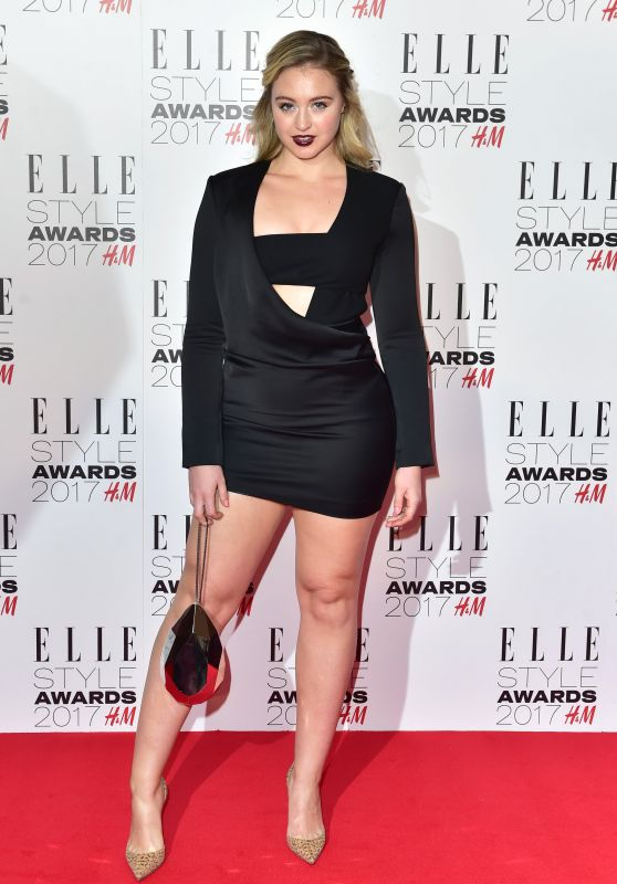 Iskra Lawrence – Elle Style Awards in London 2/13/ 2017